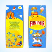 Carnival banners vertical