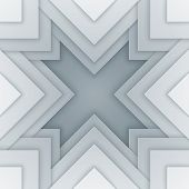 Abstract white and gray triangle shapes background