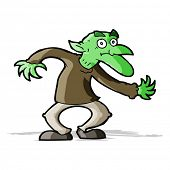 picture of goblin  - cartoon goblin - JPG