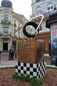 LE MANS,FRANCE,JULY 8: .(Sarthe, Pays de la Loire, France) - Monument of 24 Hours Le Mans Racing. Ju