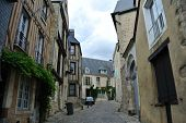 LE MANS,FRANCE,JULY 8: Historical area.(Sarthe, Pays de la Loire, France) - Buildings in the ancient