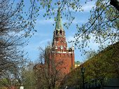 Troitskaya (trinity) Tower of The Moscow Kremlin