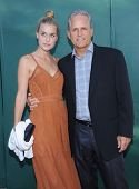 LOS ANGELES - JUL 08:  Gregory Harrison & Lily Harrison arrives to the Hallmark's