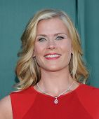 LOS ANGELES - JUL 08:  Alison Sweeney arrives to the Hallmark's