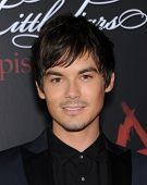 LOS ANGELES - MAY 31:  Tyler Blackburn arrives to the