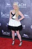 LOS ANGELES - APR 06:  RaeLynn arrives to the 49th Annual Academy of Country Music Awards   on April