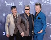 LOS ANGELES - APR 06:  Rascal Flatts arrives to the 49th Annual Academy of Country Music Awards   on