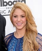 LAS VEGAS - MAY 18:  Shakira arrives to the Billboard Music Awards 2014  on May 18, 2014 in Las Vega
