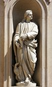PARMA, ITALY - MAY 01,2014: Saint John the Evangelist. San Giovanni Evangelista is a church in Parma