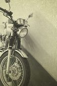 Vintage Background Motorcycle