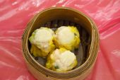 Chinese Dimsum Dumplings Basket