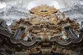 WURZBURG, GERMANY - JULY 18, 2013: Altar in the Wurzburg Cathedral dedicated to St Kilian is the fou