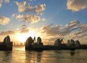 London River Thames Barrier