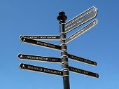 London street signpost