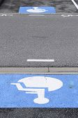 Reserved handicapped Parking