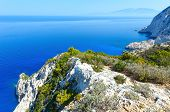 Summer Coastline Landscape (zakynthos, Greece)