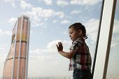 Kid And Skyscraper