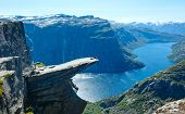 Trolltunga Summer View (norway).