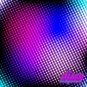 Disco Background Pink-blue Color