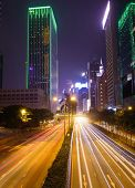 hong kong,modern city at night