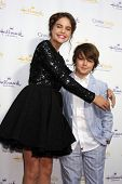 LOS ANGELES - JUL 8:  Bailey Madison, Max Charles at the Crown Media Networks July 2014 TCA Party at