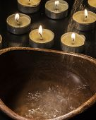 Candles Fire And Water