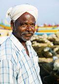 Indian Fisherman, Kerela, India.