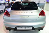 Nonthaburi - December 1: Porsche Panamera S E- Hybrid Car Display At Thailand International Motor Ex