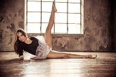 stock photo of harmony  - Young ballet dancer  - JPG