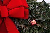Christmas Wreath with gift