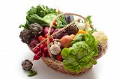 Fresh Vegetables Pn Basket.