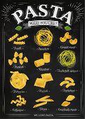 Poster Pasta Chalk
