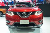 Nonthaburi - December 1: New Nissan X-trail, Suv Car Display At Thailand International Motor Expo On