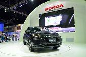 Nonthaburi - December 1: New Honda Hr-v Car Display At Thailand International Motor Expo On December
