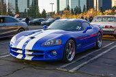 Corvette Viper Srt 10 On Display