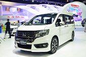Nonthaburi - December 1: New Honda Stepwagon Spada Car Display At Thailand International Motor Expo