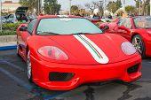 Ferrari 360 Challenge Stradale On Display