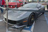 Ferrari F12 On Display
