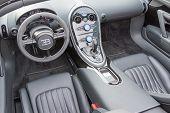 Bugatti Veyron Interior On Display
