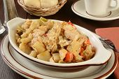 Grilled Chicken With Potatoes And Peppers