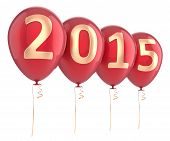 New 2015 Year Balloons Party Decoration