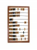 Abacus Accounting Wooden Vintage Isolated