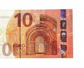 New Ten 10 Euro Banknote Greenback Paper Money