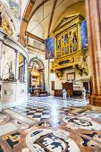 People Inside The Basilica Di San Zeno In Verona