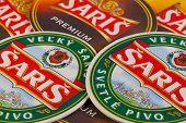 Beermats From Šariš Beer