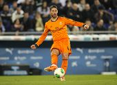 BARCELONA - JAN, 21: Sergio Ramos of Real Madrid during the Spanish Kings Cup match between Espanyol and Real Madrid at the Estadi Cornella on January 21, 2014 in Barcelona, Spain