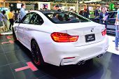 Nonthaburi - December 1: Bmw M4 Coupe Car Display At Thailand International Motor Expo On December 1