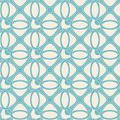Blue Abstract Lattice