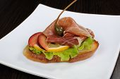 Sandwich With Jamon