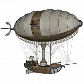 Hot air balloon - 3D render